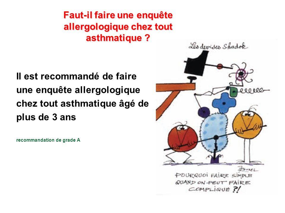 faut il faire une enqu te allergologique chez tout asthmatique ppt video online t l charger. Black Bedroom Furniture Sets. Home Design Ideas