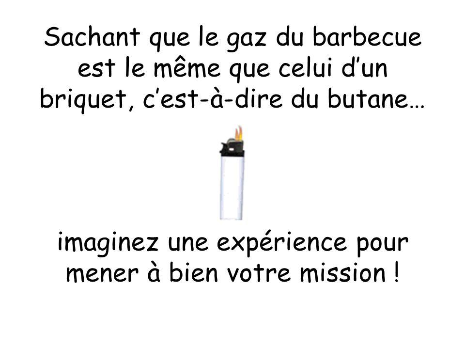 imaginez une expérience pour mener à bien votre mission !