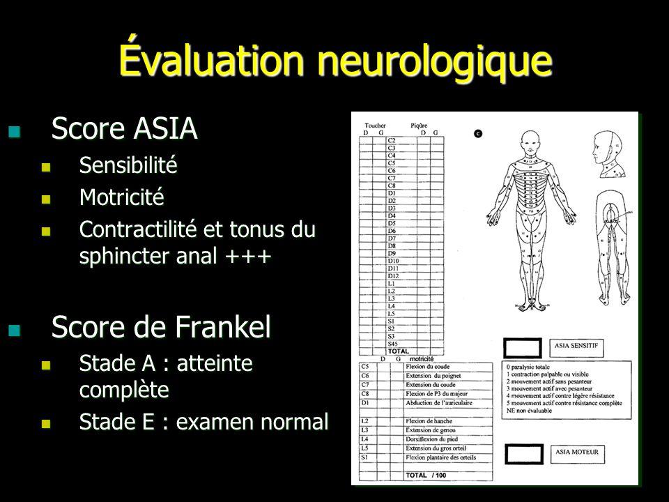Évaluation neurologique