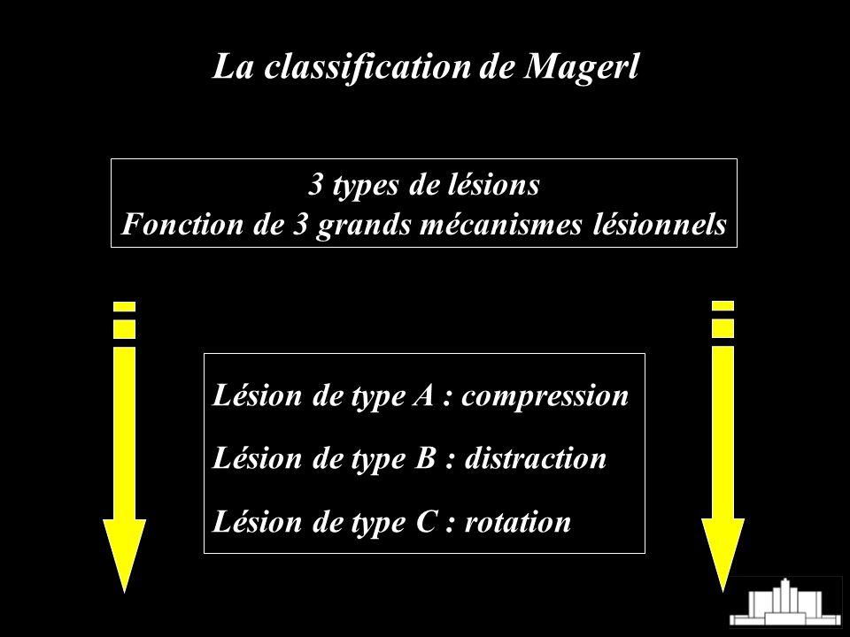 Fonction de 3 grands mécanismes lésionnels