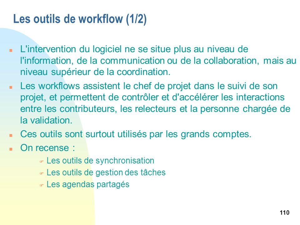 Les outils de workflow (1/2)