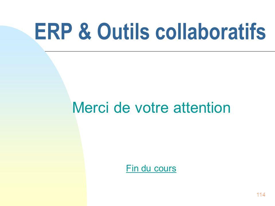 ERP & Outils collaboratifs
