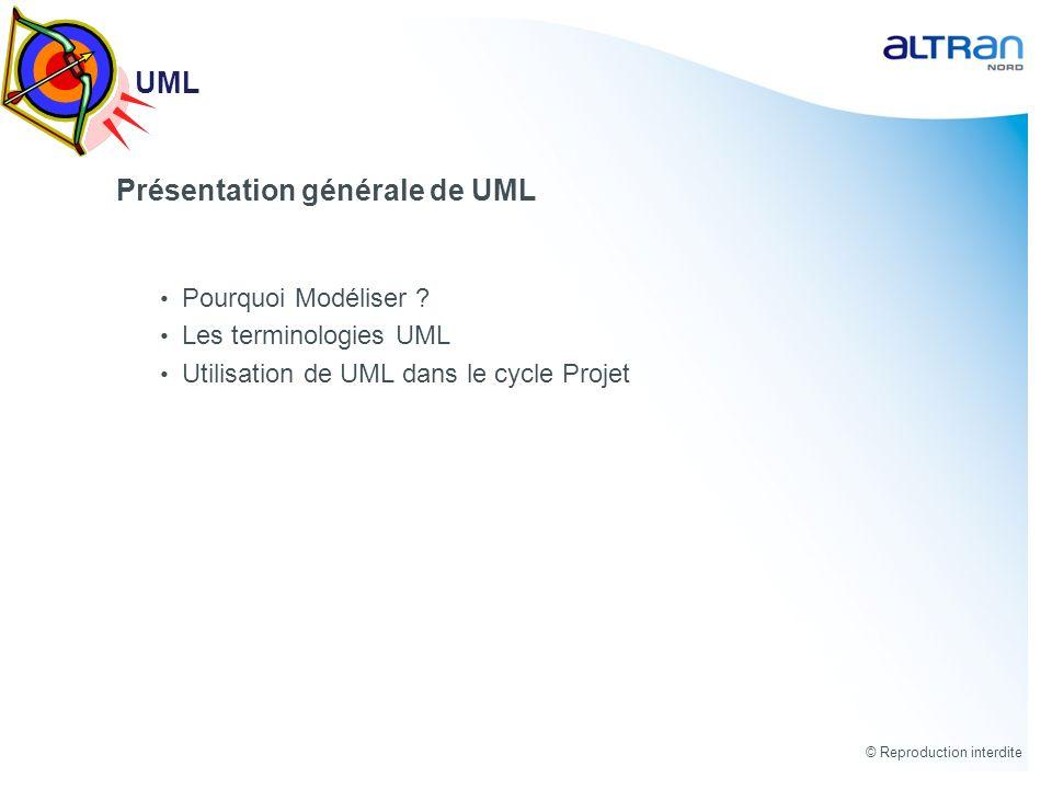 Présentation générale de UML