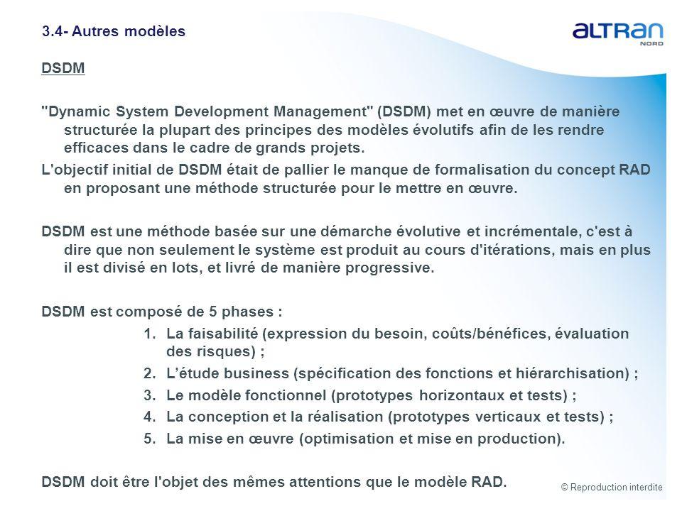 DSDM est composé de 5 phases :