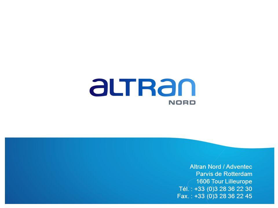 Altran Nord / Adventec Parvis de Rotterdam 1606 Tour Lilleurope