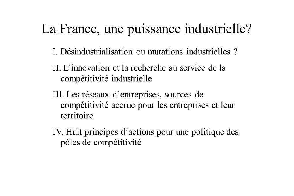 La France, une puissance industrielle