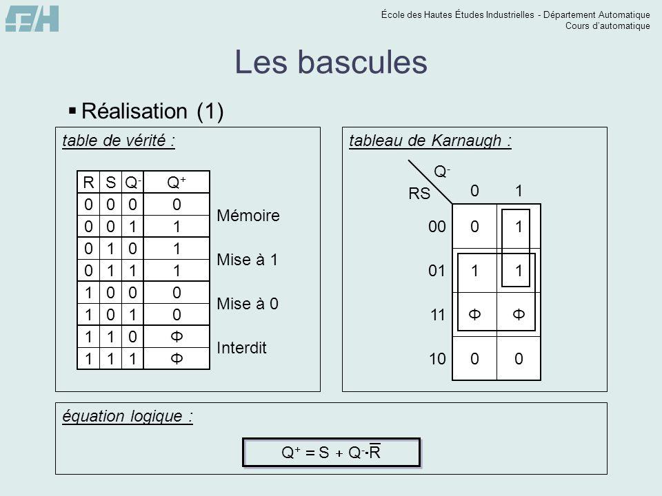 Logique s quentielle plan syst me combinatoire syst me - Table de verite multiplexeur 2 vers 1 ...