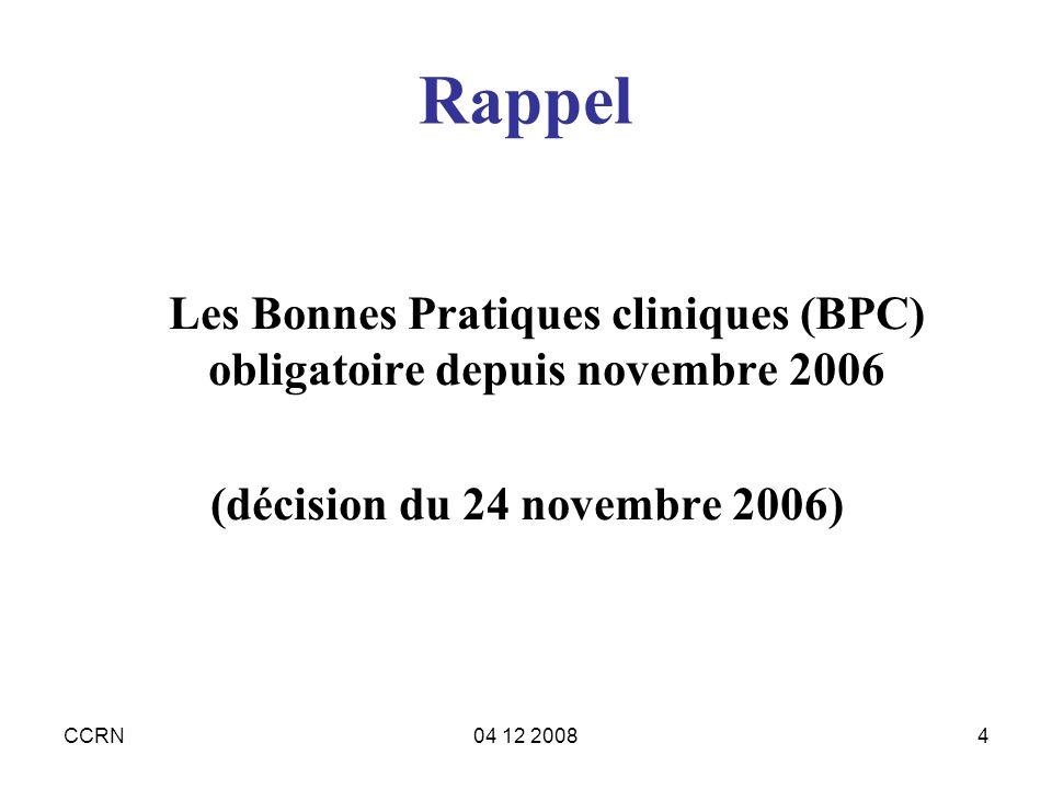 (décision du 24 novembre 2006)