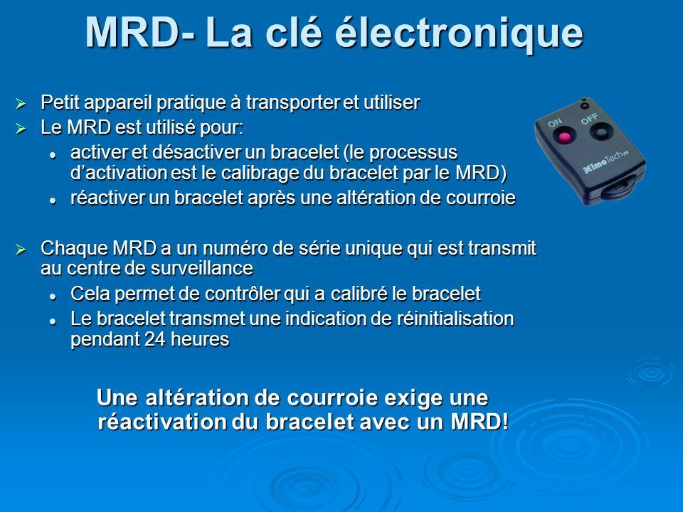 MRD- La clé électronique