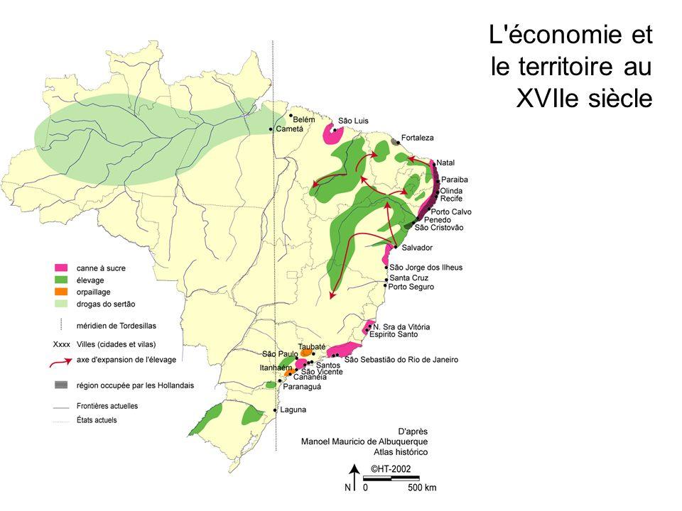 L économie et le territoire au XVIIe siècle