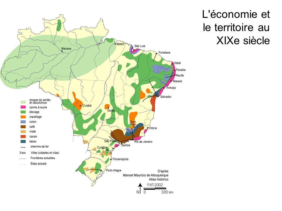 L économie et le territoire au XIXe siècle