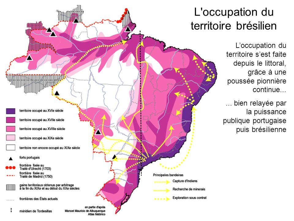 L occupation du territoire brésilien