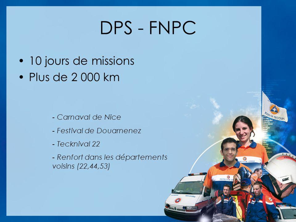 DPS - FNPC 10 jours de missions Plus de 2 000 km - Carnaval de Nice