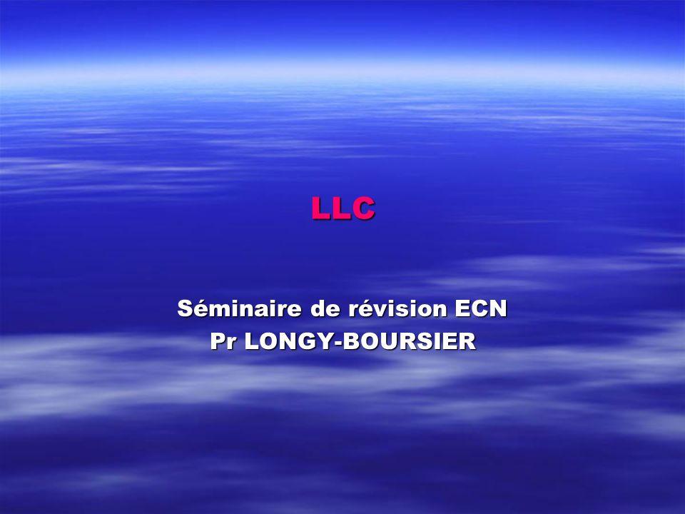 Séminaire de révision ECN Pr LONGY-BOURSIER