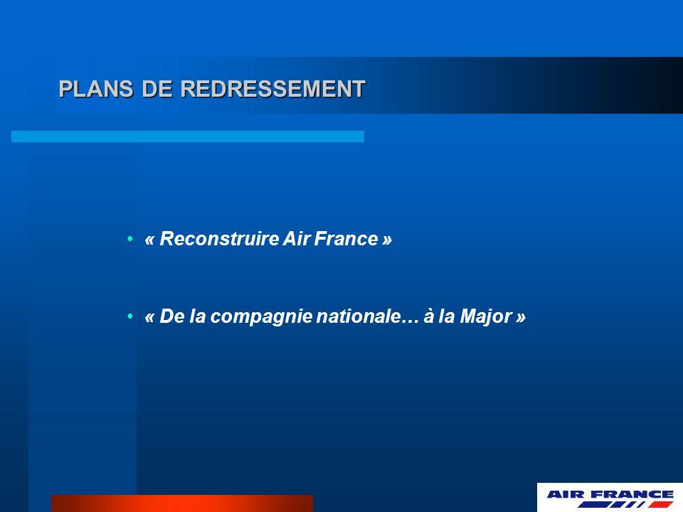 PLANS DE REDRESSEMENT « Reconstruire Air France »