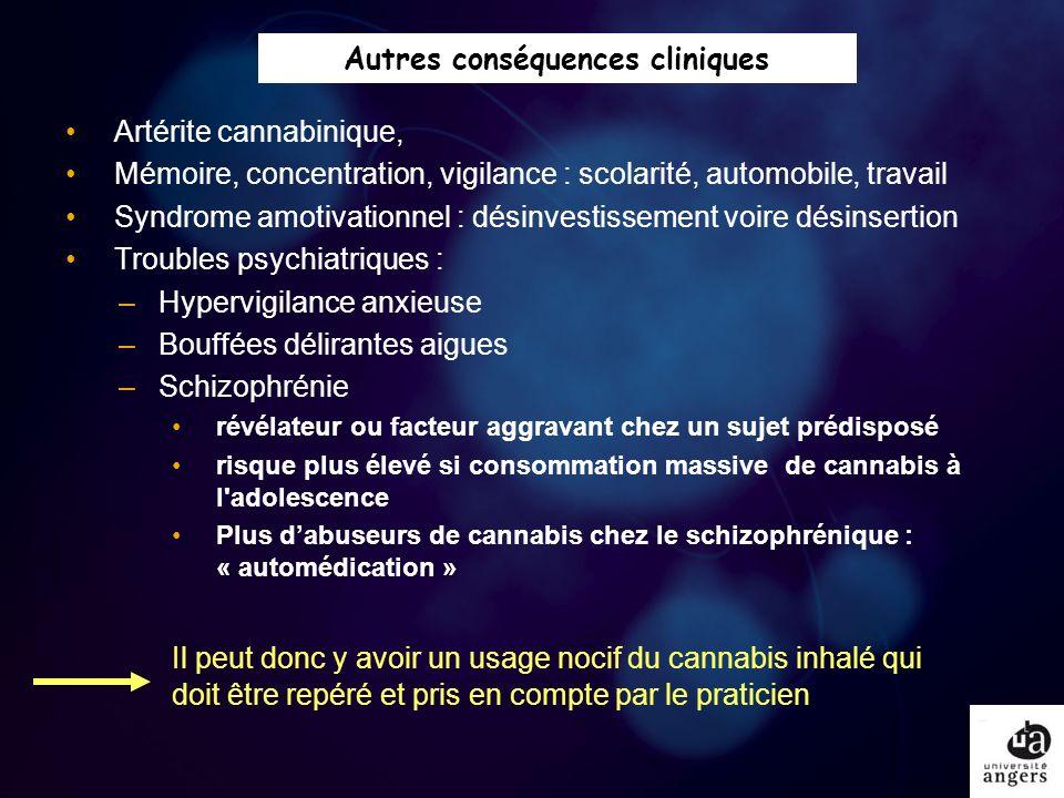 Autres conséquences cliniques