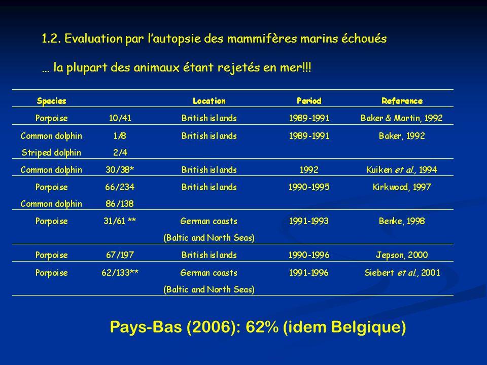 Pays-Bas (2006): 62% (idem Belgique)