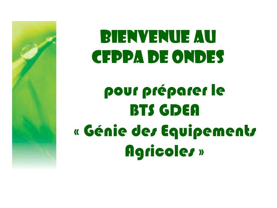 « Génie des Equipements Agricoles »