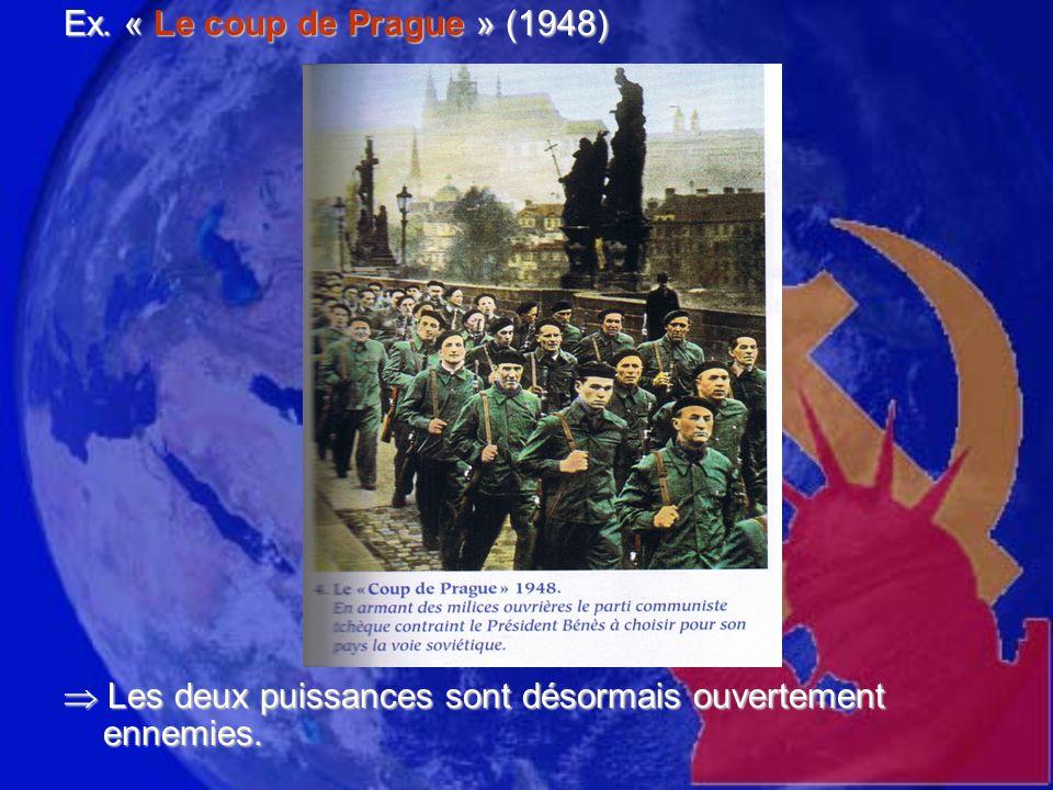 Ex. « Le coup de Prague » (1948)