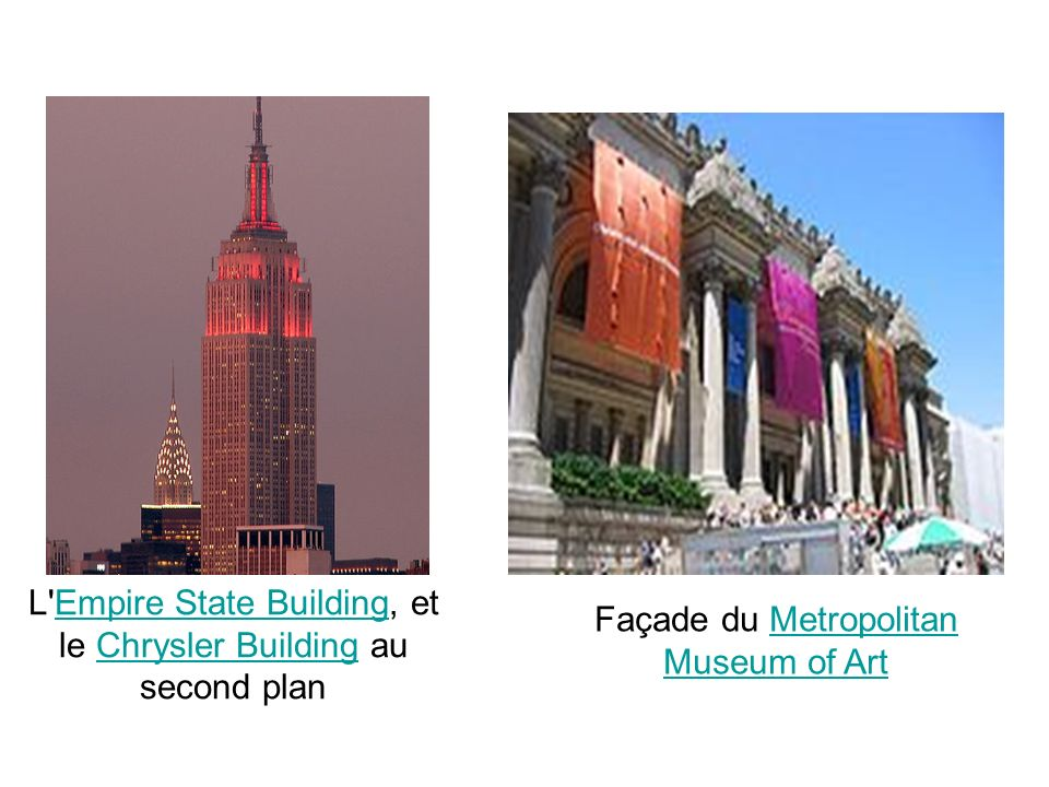 L Empire State Building, et le Chrysler Building au second plan