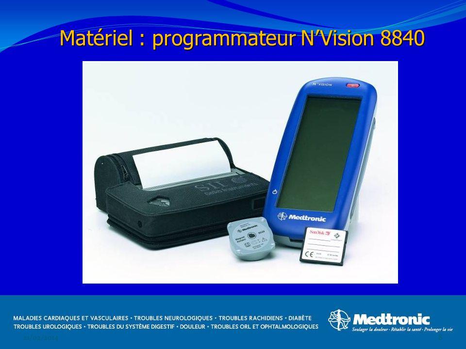 Matériel : programmateur N'Vision 8840