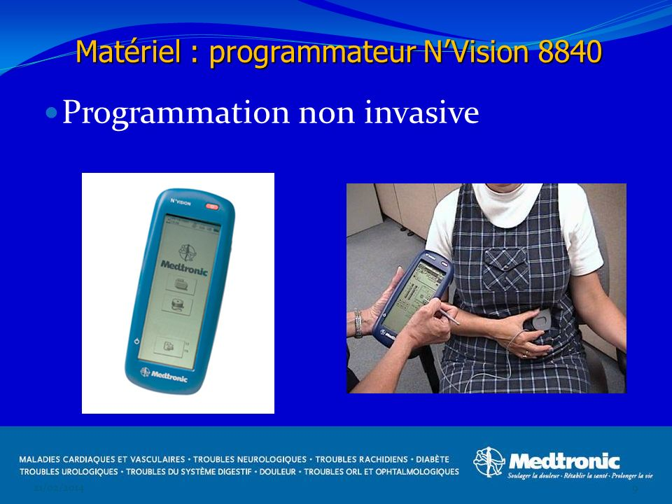 Programmation non invasive