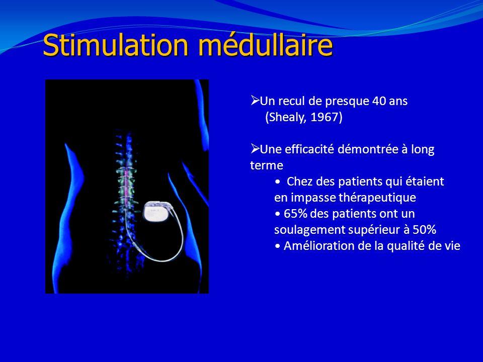 Stimulation médullaire