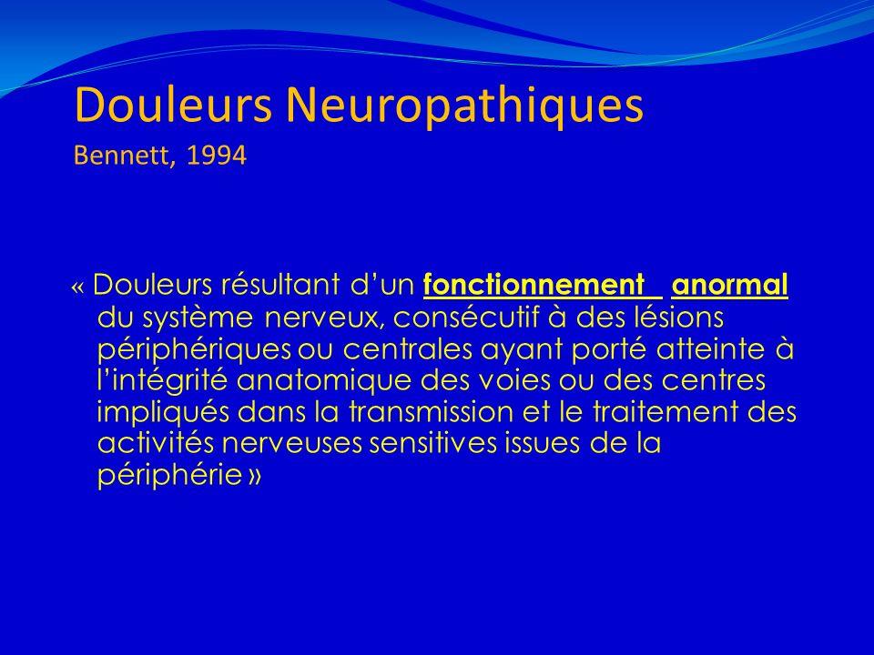Douleurs Neuropathiques Bennett, 1994