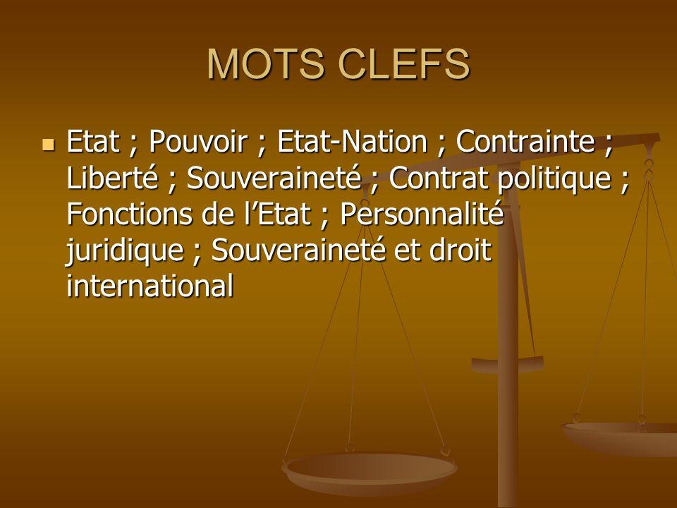 MOTS CLEFS