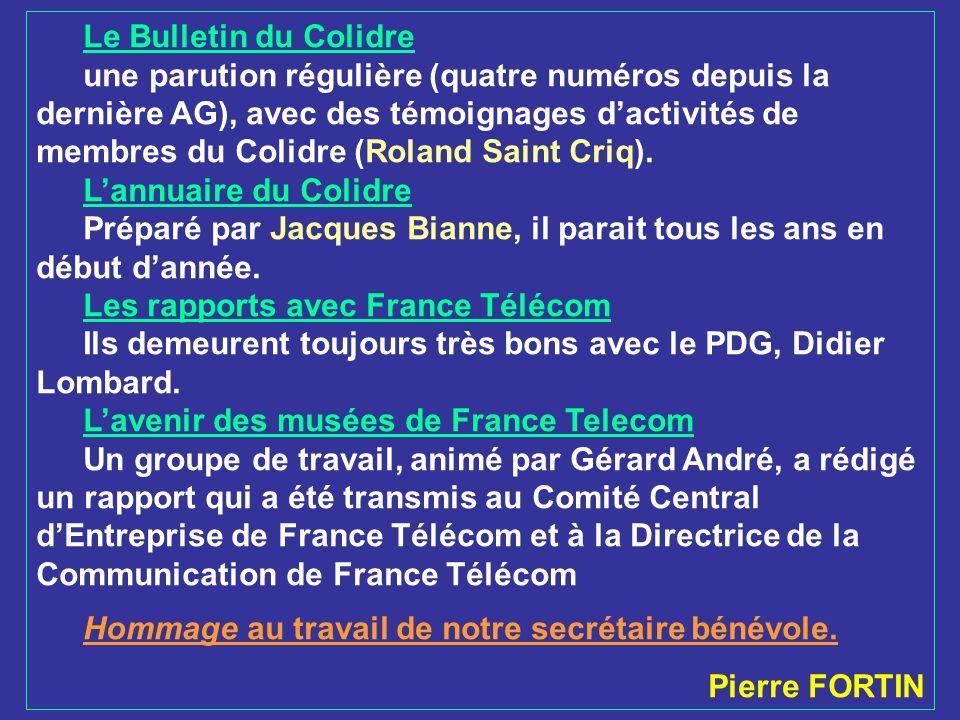 Le Bulletin du Colidre