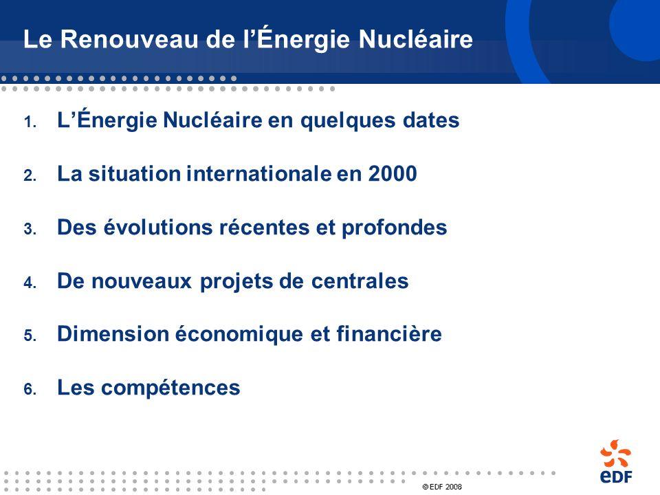 Le Renouveau de l'Énergie Nucléaire