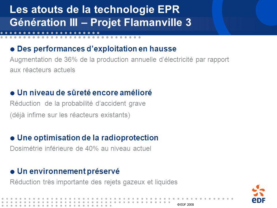 Les atouts de la technologie EPR Génération III – Projet Flamanville 3