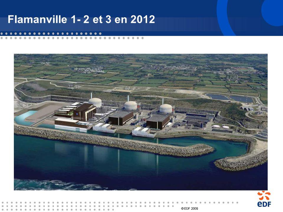Flamanville 1- 2 et 3 en 2012