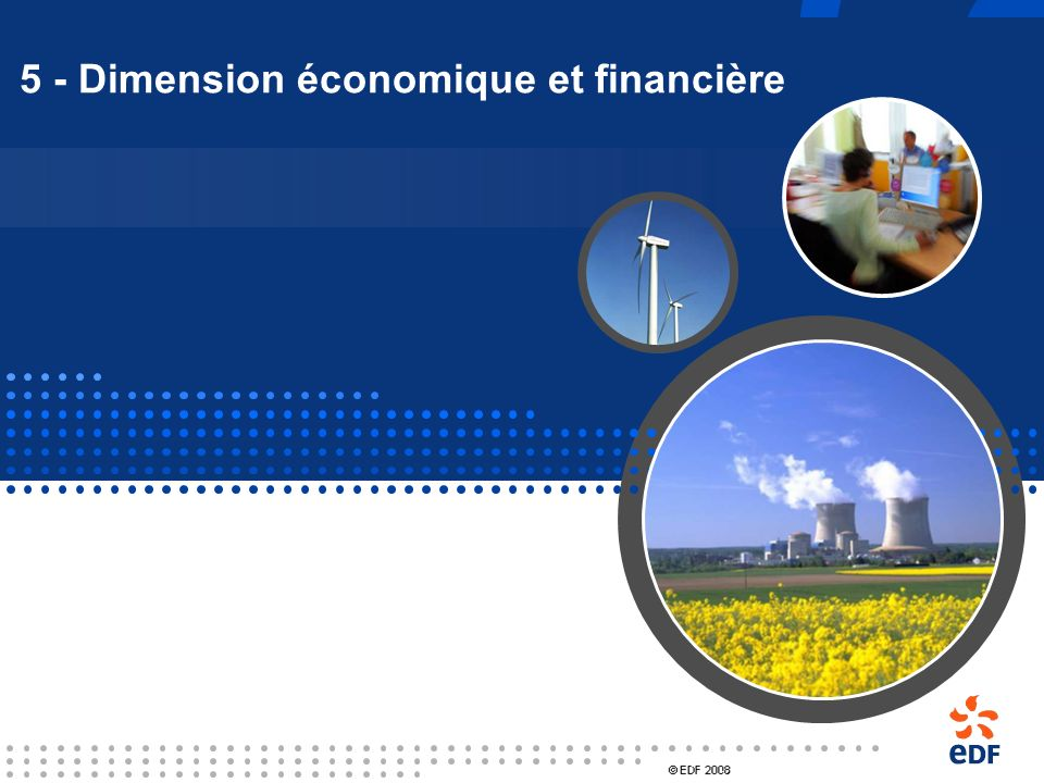 5 - Dimension économique et financière
