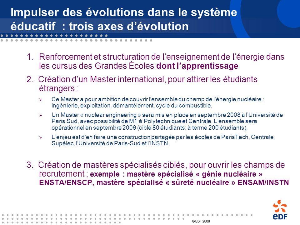 Impulser des évolutions dans le système éducatif : trois axes d'évolution