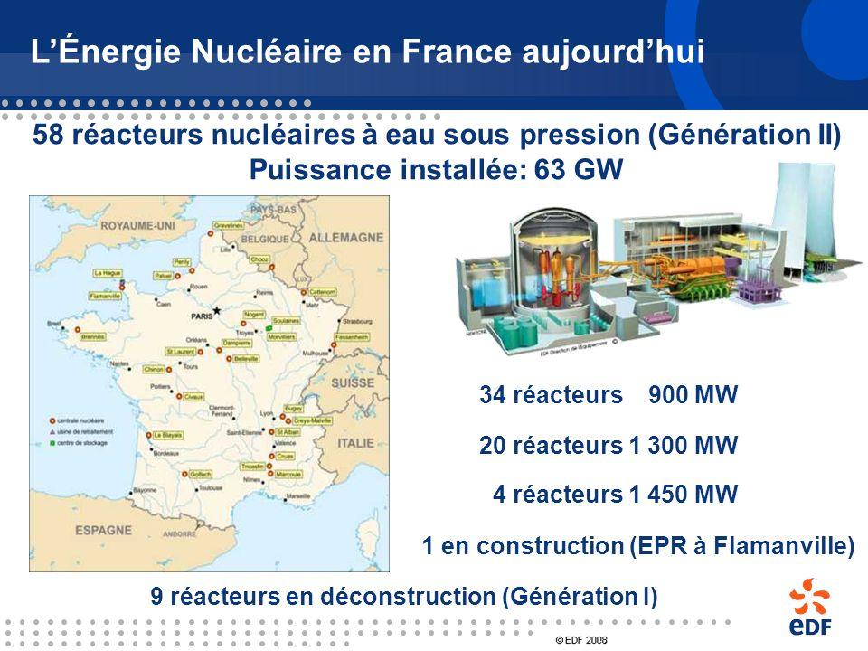 L'Énergie Nucléaire en France aujourd'hui
