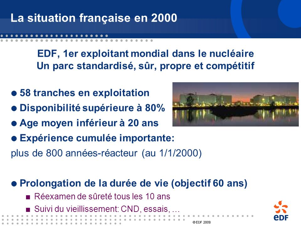 La situation française en 2000
