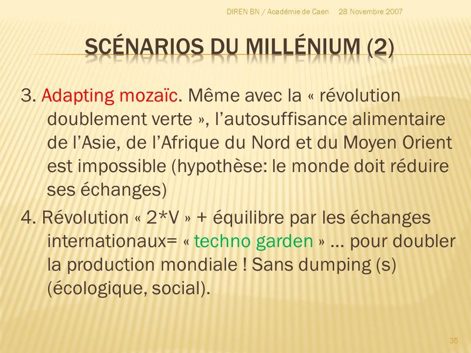Scénarios du millénium (2)