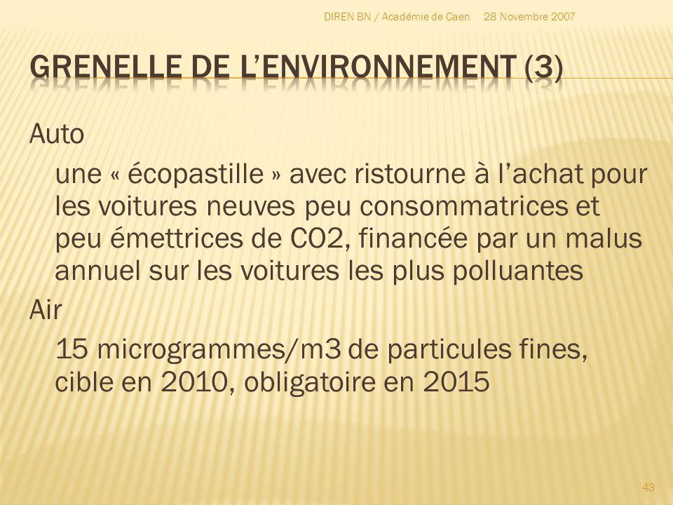 Grenelle de l'environnement (3)