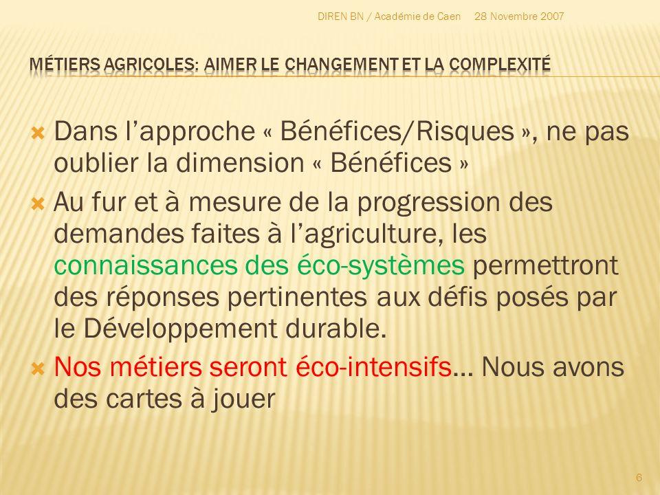 Métiers agricoles: aimer le changement et la complexité