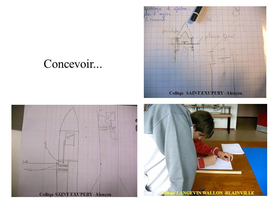 Concevoir... Collège SAINT EXUPERY - Alençon