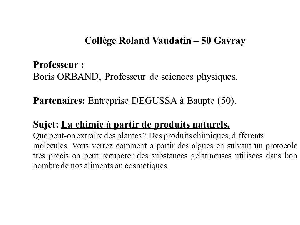 Collège Roland Vaudatin – 50 Gavray