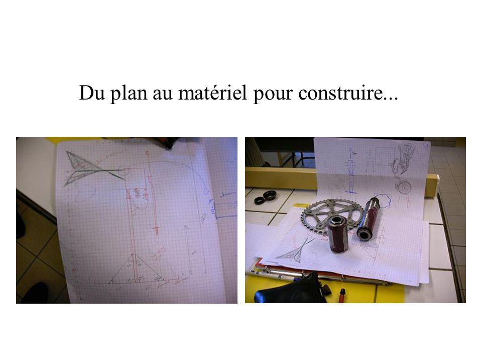 Du plan au matériel pour construire...