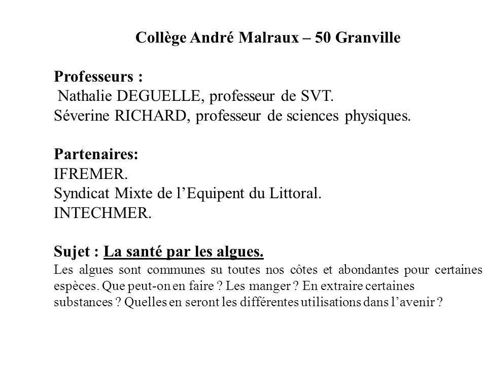 Collège André Malraux – 50 Granville