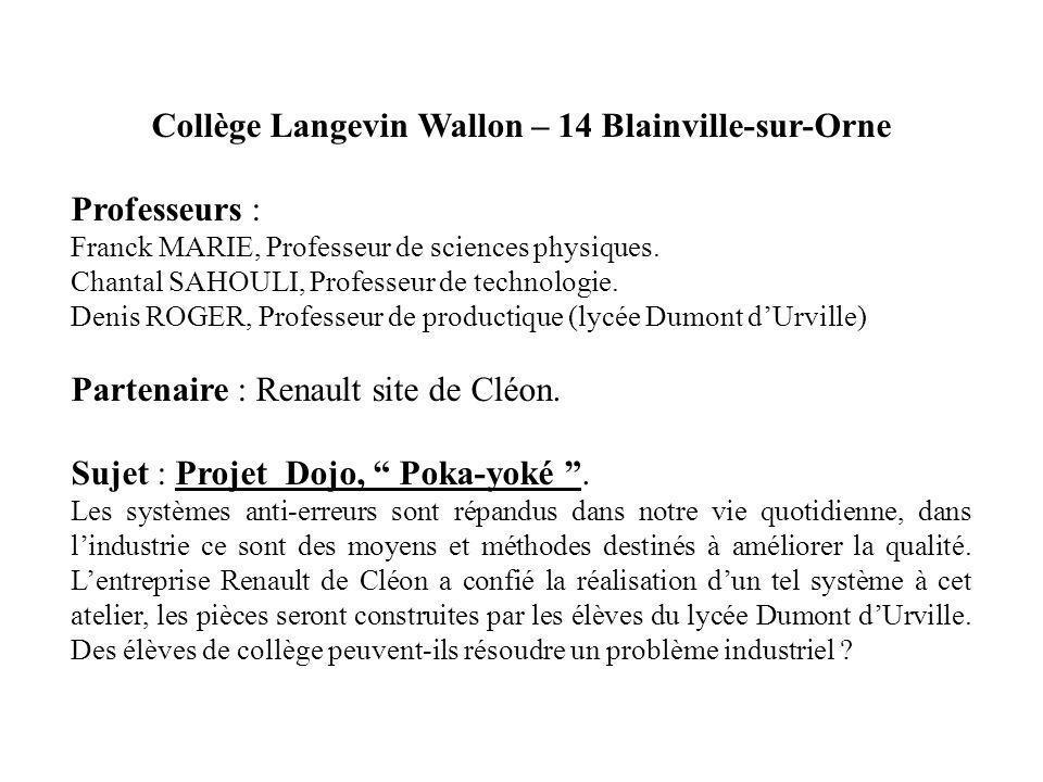 Collège Langevin Wallon – 14 Blainville-sur-Orne