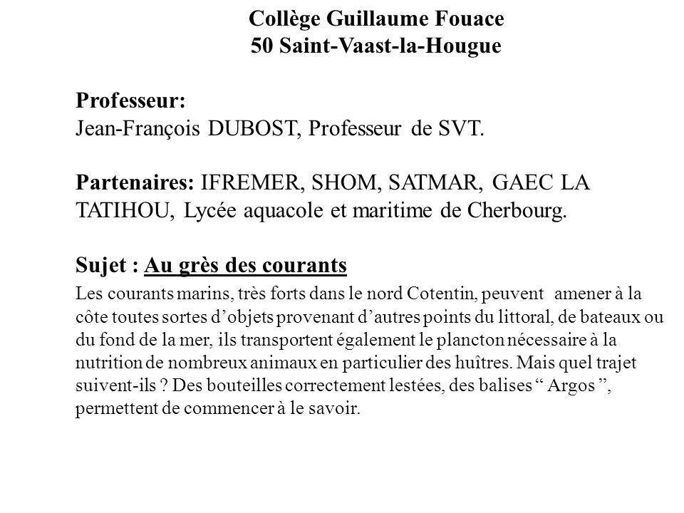 Collège Guillaume Fouace 50 Saint-Vaast-la-Hougue