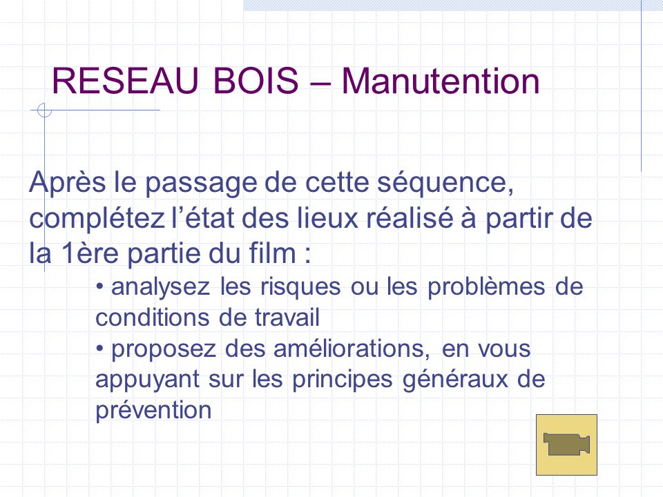 RESEAU BOIS – Manutention