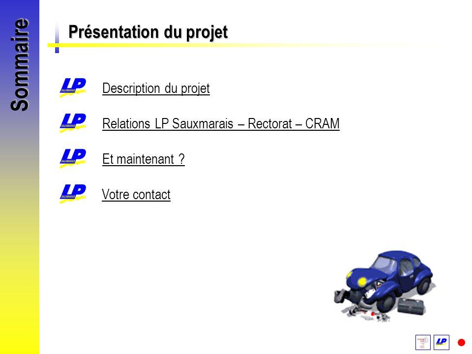 Sommaire Présentation du projet Description du projet