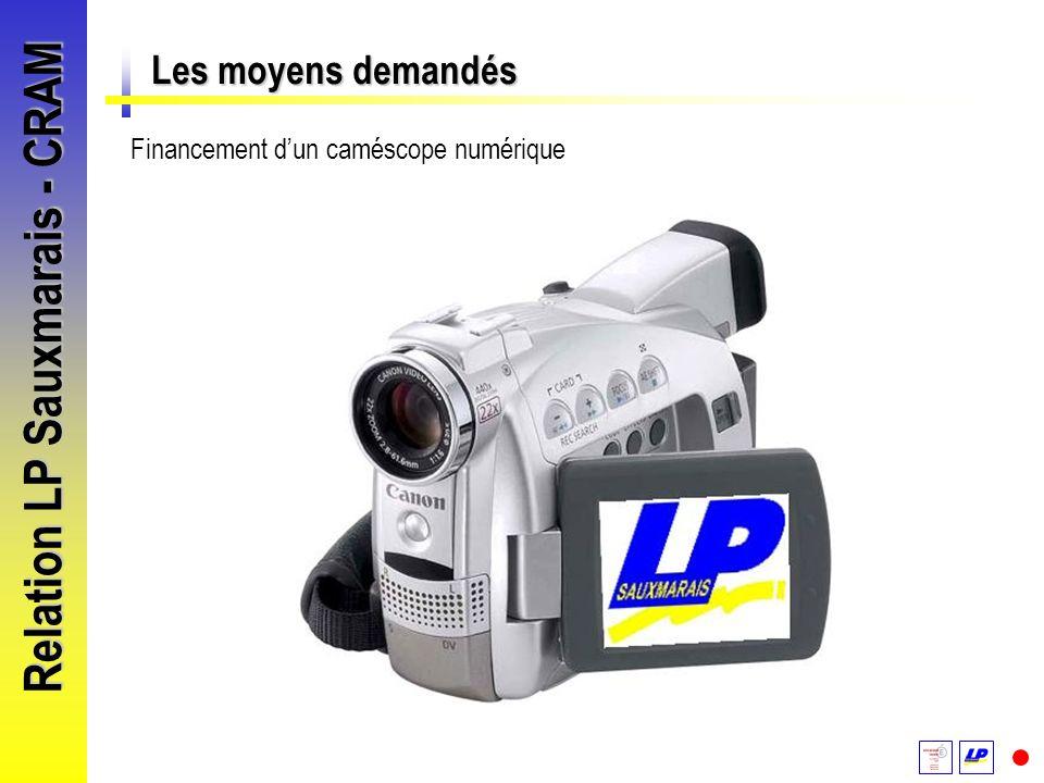 Relation LP Sauxmarais - CRAM