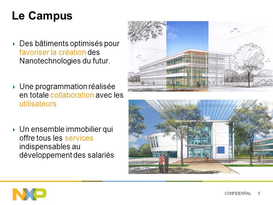 Le Campus Des bâtiments optimisés pour favoriser la création des Nanotechnologies du futur.
